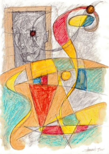 eye abstraction by Stuart Milburn