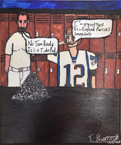 Tide Pod Stupid Super Bowl Challenge by Thomas Sharrock
