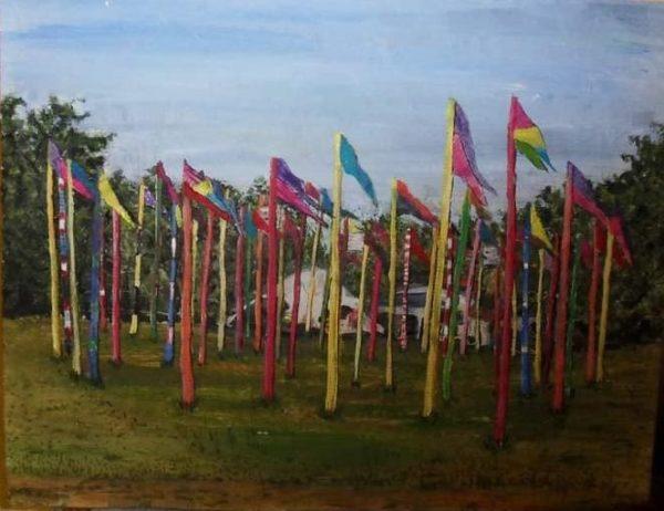 Green Futures Flags. by Phil Stewart artivist