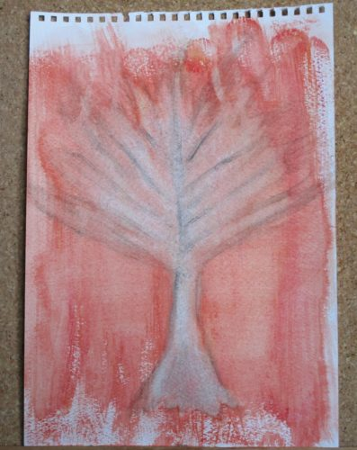 Fire Tree by My art unfolding