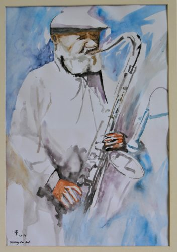 That's Jazz by Whistling Ear Art