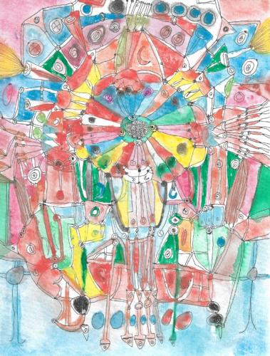 Ferris Wheel by Rosie  Stevens
