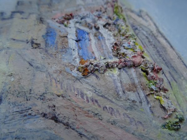 detail of 'Chichester Cathedral IV'  2014-2016 by SOLD  'Glistening Jewels (Isle of Skye)'  2013