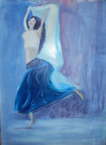 Gigi dancing by Theresa Patterson