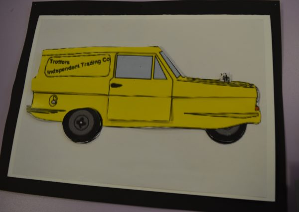 Only Fools and Horses van by Shaun Thacker