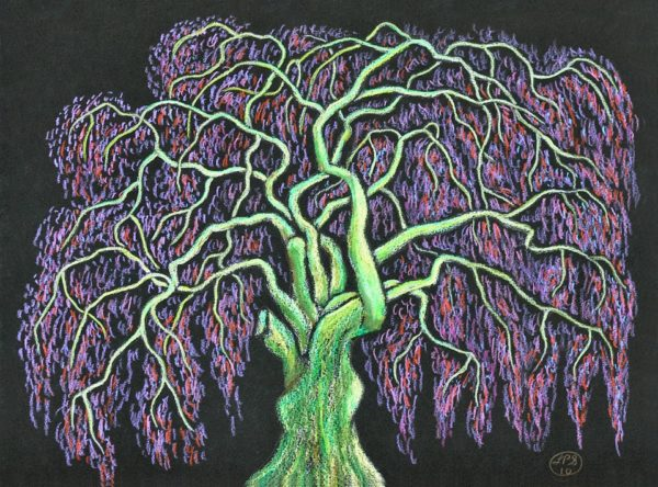 My Childhood Shade Tree by Larry Paul Strang