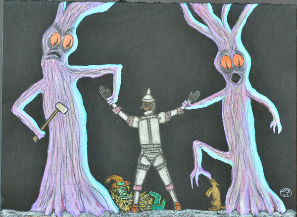 The Trees Revenge (Tree Series #3) Created From Mind by Larry Paul Strang