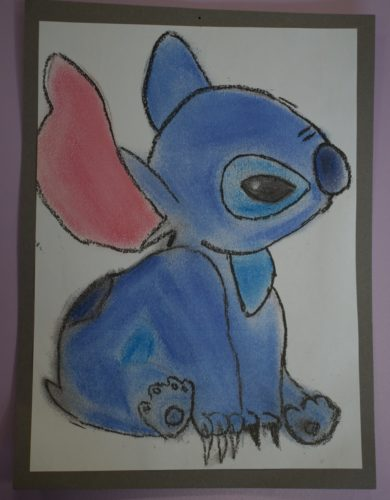 Stitch in Pastels by david gibson