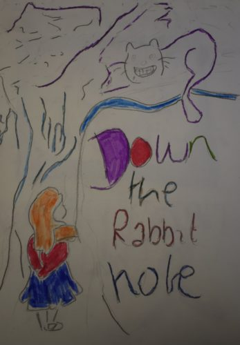 Down the Rabbit Hole by Sonja Kent