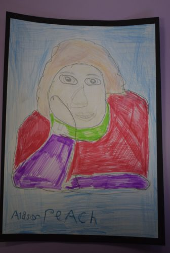 Alison Peach by Sonja Kent