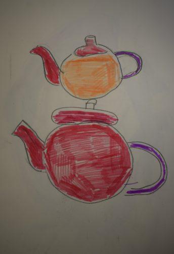 Teapots by Sonja Kent