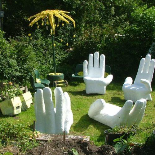 Handchairs by Phil Stewart artivist