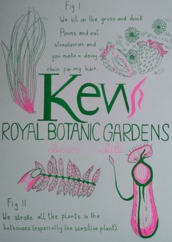 Kew Royal Botanic Gardens Dream Date by Kate Rolison