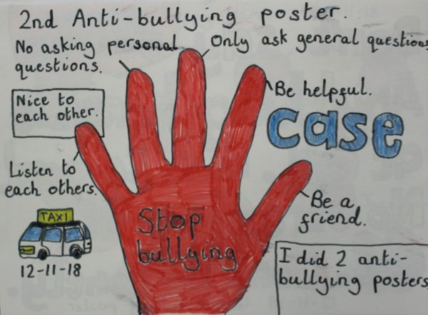 2nd Anti Bullying Poster by Harrison Walsh