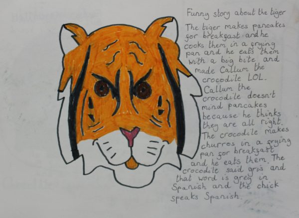Funny story about Tiger by Harrison Walsh