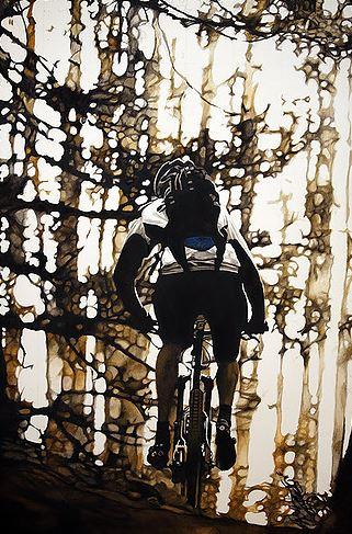 Mountain-Biker-in-Trees.jpg by Jamie Avis