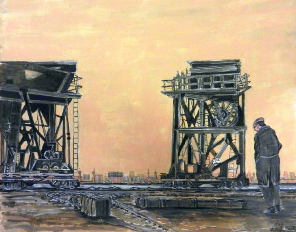 The end of Dagenham Dock by Roy Milburn