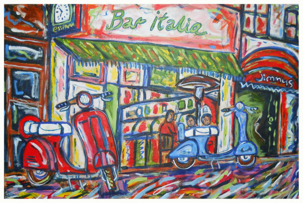 bar Italia by John Pipere