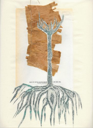 Tree on Page by Hannah Merrill