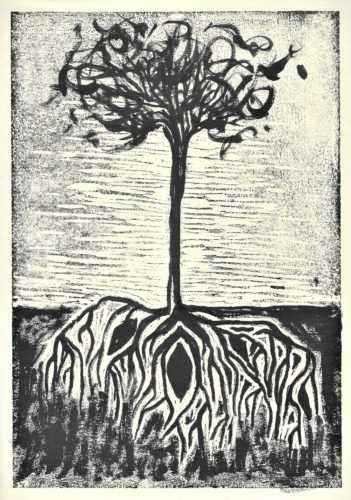 Spring Tree by Hannah Merrill