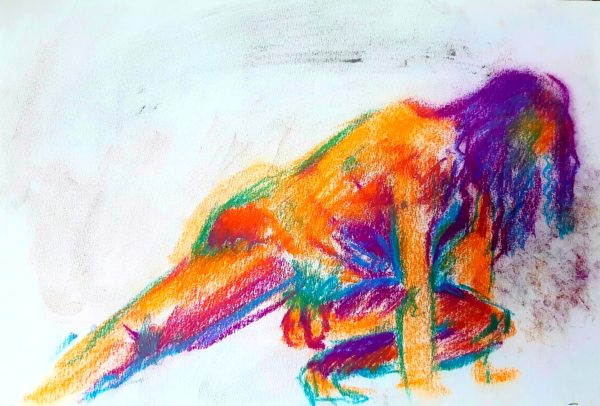 Carry On by Oil Pastel Sketch V