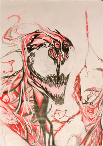 Carnage from Marvel Comics by Peter Western