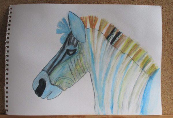 Zebra by My art unfolding