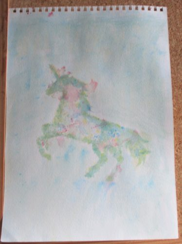 Unicorn by My art unfolding
