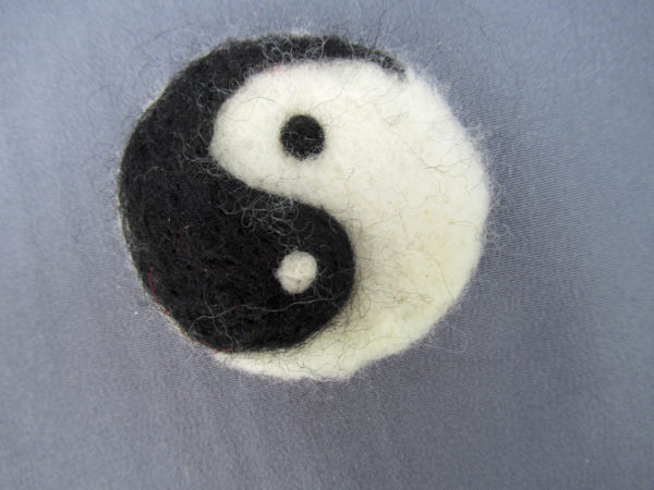 felted-brooch by Sally Case