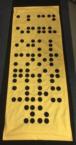 A-Z in Braille by Clarke  Reynolds