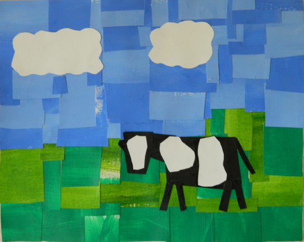 Cow Collage by Design for Life