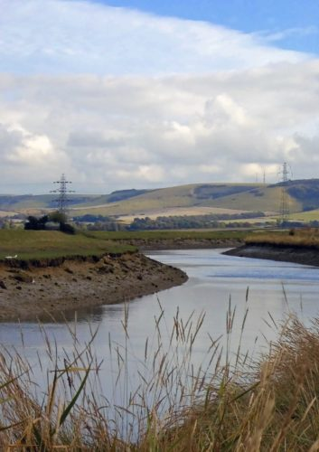 Ouse Valley and River View near Lewes by Sarah Harris
