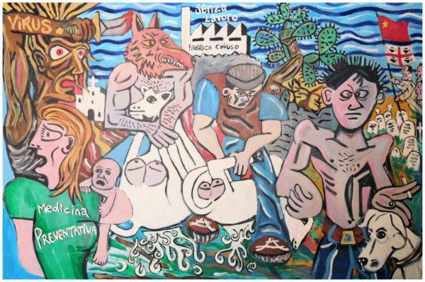 Il Mostro,Il Pastore e Il Ladro. by John Pipere