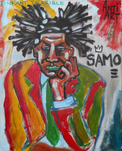 Jean Michele Basquiat by John Pipere