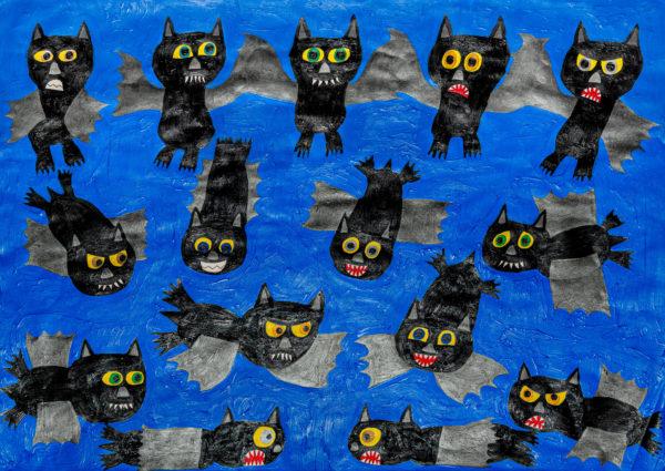 The Batty Bats! by Sam  Parratt