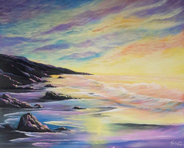 Lilac Sunset by Shelly Lightnin