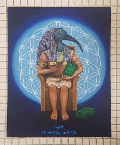Thoth by Chloe Shalini