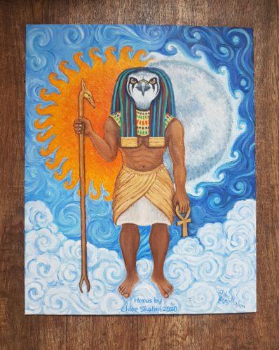 Horus by Chloe Shalini