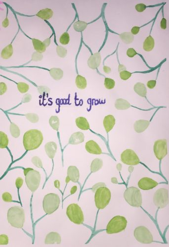It's good to grow by Kirsty Rogers