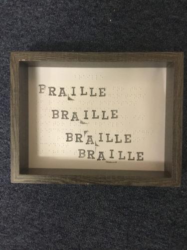Braille by Clarke  Reynolds