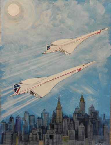 Concorde by Roy Milburn
