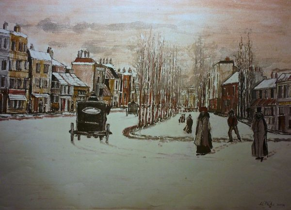 Edwardian Snow by Roy Milburn
