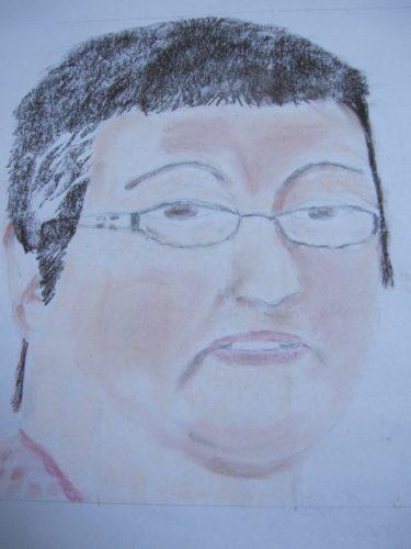 Portrait of Cecilia Burns by Joy Turner