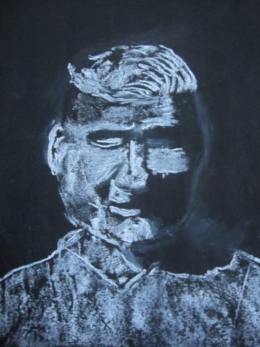 Portrait of David Groves by Joy Turner