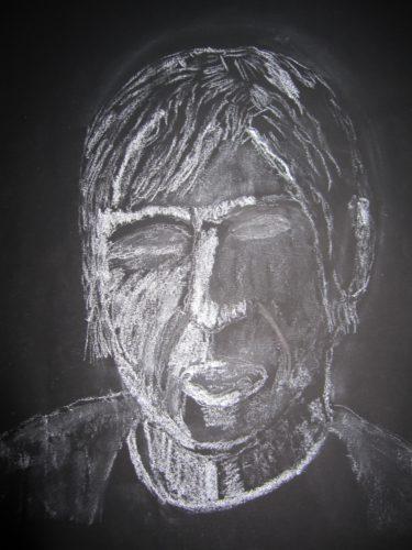 Portrait of Paul Reekie by Joy Turner