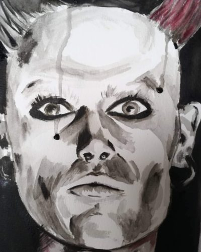 Keith Flint by Maya Davis