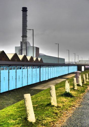 Southwick Power Station winter view by Sarah Harris