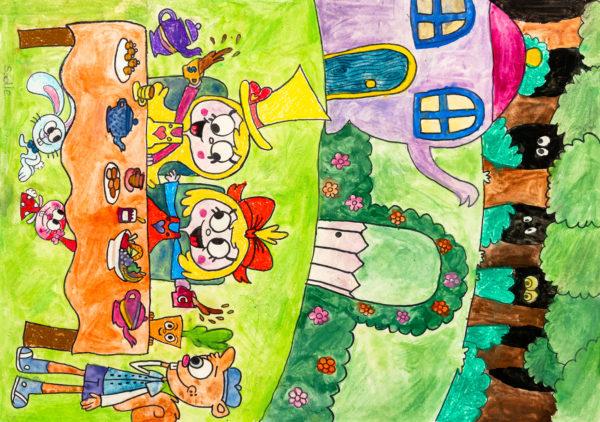 Sadies tea party by Sadie