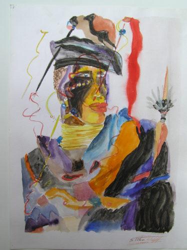shaman by Silke Wolff