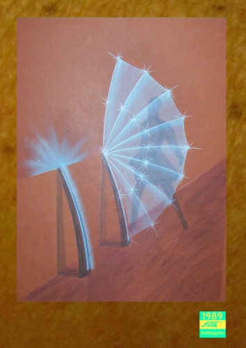 paravant lamp by Silke Wolff